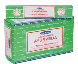 Satya Nag Champa Ayurveda Incense Sticks