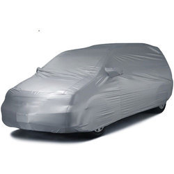 Dark Grey Polyester Car Body Cover