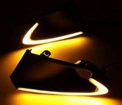 DRL Day Time Running Light FOG LAMP for Maruti Suzuki Nexa Baleno.(NEON)