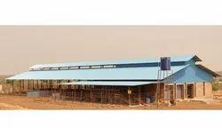 Prefabricated Dairy Farm Shed