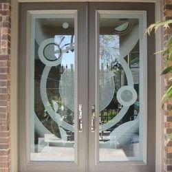 Glass Door Designing Service & Door Design Service in Gurgaon Pezcame.Com