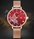 Round Nf5011 Naviforce Noble Series Elegant Ladies Watch, For Formal