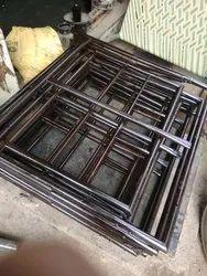 Simple Steel Bed