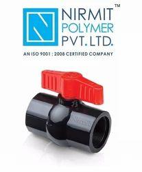 PVC Solid Ball Valve