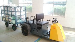 Electric Utility Vehicle- towing vehicle