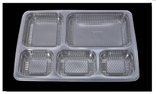 Plastic Disposable Meal Tray