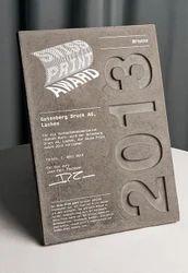 Wooden Certificate