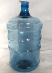 White And Blue Plastic 20 Liters Water Jar, Capacity: 18 And 20 Liter