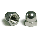 Stainless Steel Dome Nut, Size: M3 To M24
