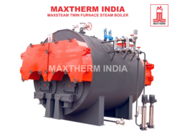 Solid Fuel Fired Twin Furnace Steam Boiler