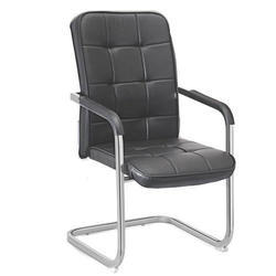 SPS-252 High Back Workstation Black Leather Chair