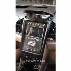Android Tesla Style Car GPS Navigation Multimedia For Xuv 2017 to 2019