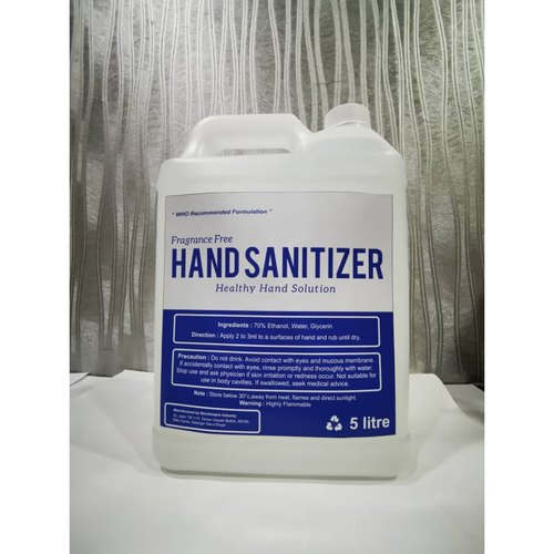 HAND SANITIZER (5LTRS CAN)