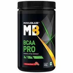 Muscleblaze MB BCAA Pro Powerful Intra Workout, Packaging Size: 450 g, Powder