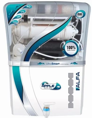 Apple Alfa RO Water Purifier, for Home, Capacity: 10-15 L