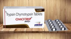 Trypsin-Chymotrypsin 1.00 Lac I.U.