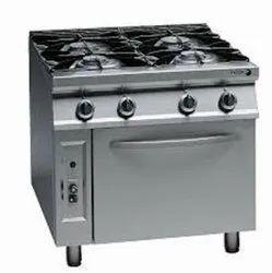 4 Burner Cooking Range With Oven