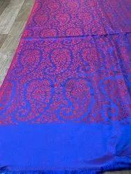 Kshitiz Textiles Rectangular Modal Silk Reversible Designer Stole