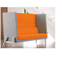 High Workspace Seating Sofa