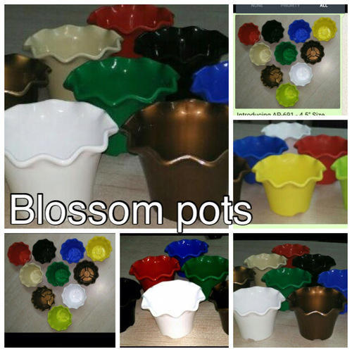 "BLOSSOM POTS, Size: 6"" And 8"""