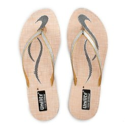 Women Silver PVC Fashion Slippers
