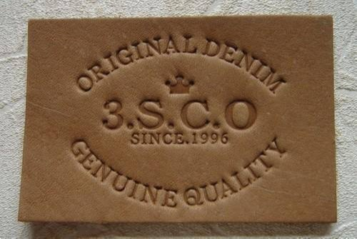 Embossing / Debossing PU Leather Patches