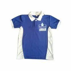 School Collar T Shirt Printing Service