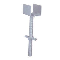 Adjustable Stainless Steel U Head Base Jack