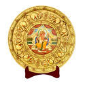 Indian God Marble Plate