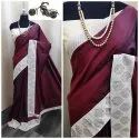 Festive Wear Sana Silk Saree with Blouse Piece