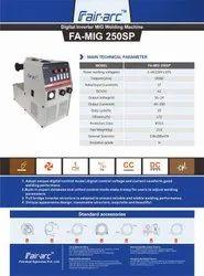 Fair Arc IGBT Controlled MIG Welding Machine 250amps