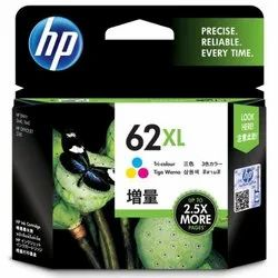 HP 62 XL High Yield Tri-color Original Ink Cartridge