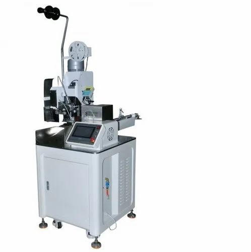 Fully Automatic Cut, Strip and Single Side Crimping Machine - Crimp Center-1