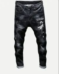 Denim Faded mens jeans, Waist Size: 28-38