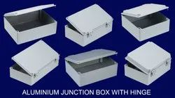 SABO Opaque Aluminum Junction Box (HINGED), IP67