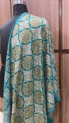 Aari Embroidery Work Stole