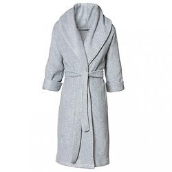 8424ec3c5f Grey And Cotton Ladies Bathrobe