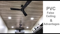 White Galvanised PVC False Ceiling for Office