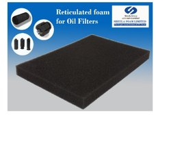 Sheela Oil Filter Reticulated Foam Sheet
