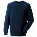 Cotton Fleece Round Neck Sweatshirt
