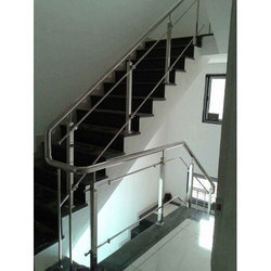 Glass Stainless Steel Railing