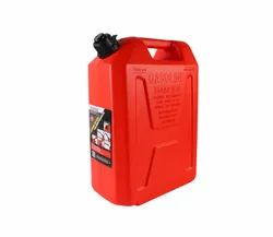 22L Portable Plastic Marine Outboard Fuel Tank Jerry Can With Spout