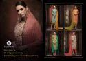 KESSI Unstitched Dress Material Rangoli Suit