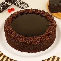 Round Chocolate Cake, Packaging Type: Carton Box, Weight: Half Kg