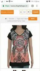 Cotton Printed Women's Wear