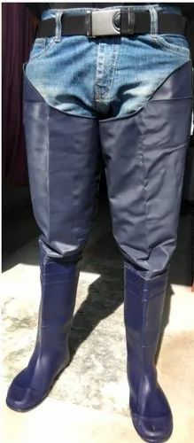 Paddy Long Length Shoes, Thigh-High Hip Waders with String to Tie to The Belt, Rice Long Length Boot