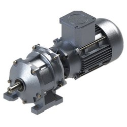 NBE 0.5-15 Hp Three Stage Helical AC Geared Motor, Voltage: 330-440 V, 10-300RPM