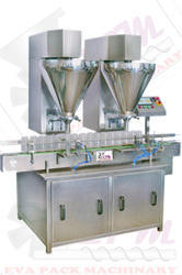 SS Automatic Double Head Powder Filling Machine