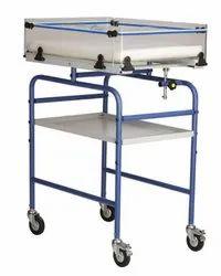 Nice 6000 Infant Observation Trolley Collapsible Side Panels Bed Tilting