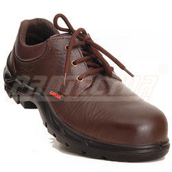 Brown Karam Deluxe PU Sole Safety Shoes